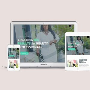 Hair Consultant Website