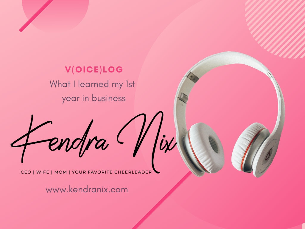 Kendra Nix Voice Blog